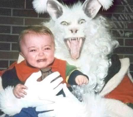 easter bunny hunting