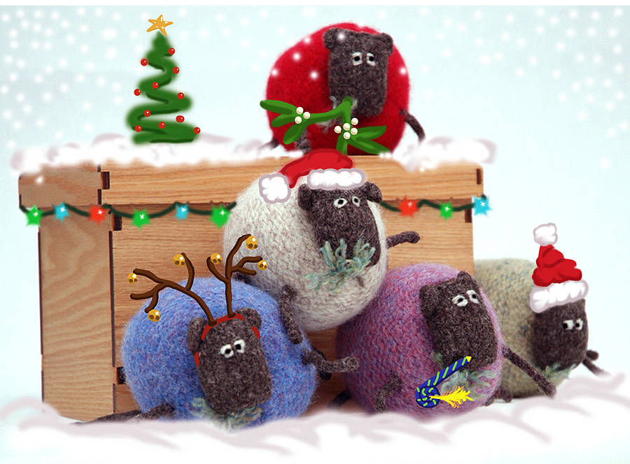 Stinky Christmas Sheep